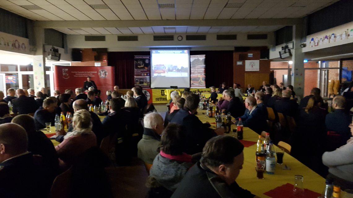 Jahreshauptversammlung der Freiwilligen Feuerwehr Wahlstedt